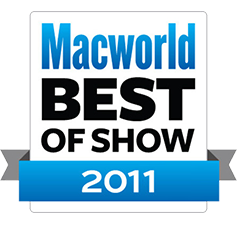 Boom Macworld Best of show 2011