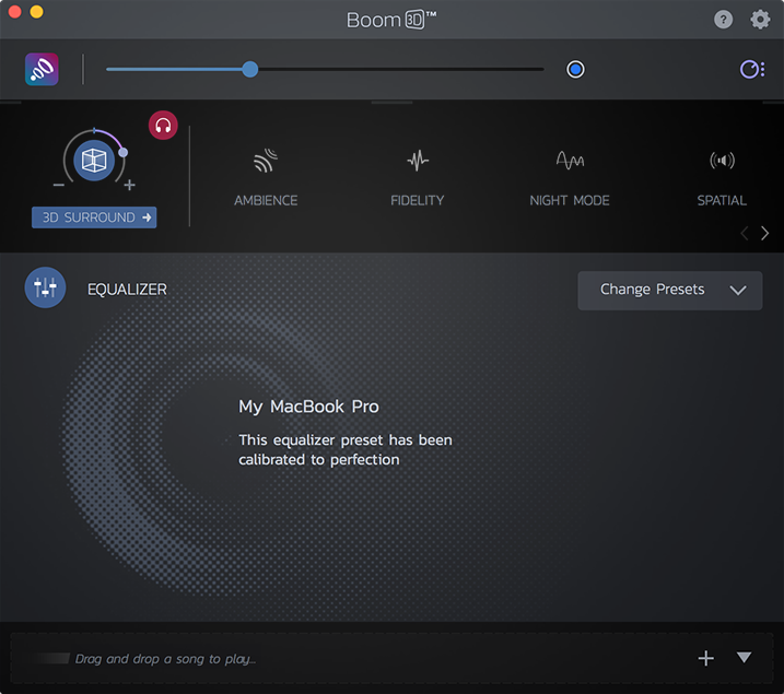 Boom 3D: The Surround Sound Audio - Redefining the Mac audio experience Image